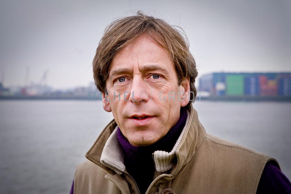 David Hart, directeur van David Hart Vastgoed in Schiedam, The Netherlands op 13 February, 2009. (Photo by Michel de Groot)