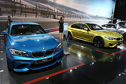 05.04.2016, Zagreb, CRO, Zagreb Auto Show, im Bild BMW M2 // Press day at Zagreb fair before official opening of Zagreb Auto Show at Zagreb, Croatia on 2016/04/05. EXPA Pictures &copy; 2016, PhotoCredit: EXPA/ Pixsell/ Dalibor Urukalovic<br /> <br /> *****ATTENTION - for AUT, SLO, SUI, SWE, ITA, FRA only*****