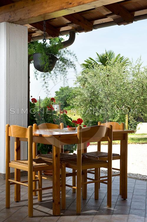 Luglio 2010..Agriturismo AL Confine di Sabina Russian..Localita' Plessiva, Cormons, Gorizia, FVG..Foto di Simone Ferraro