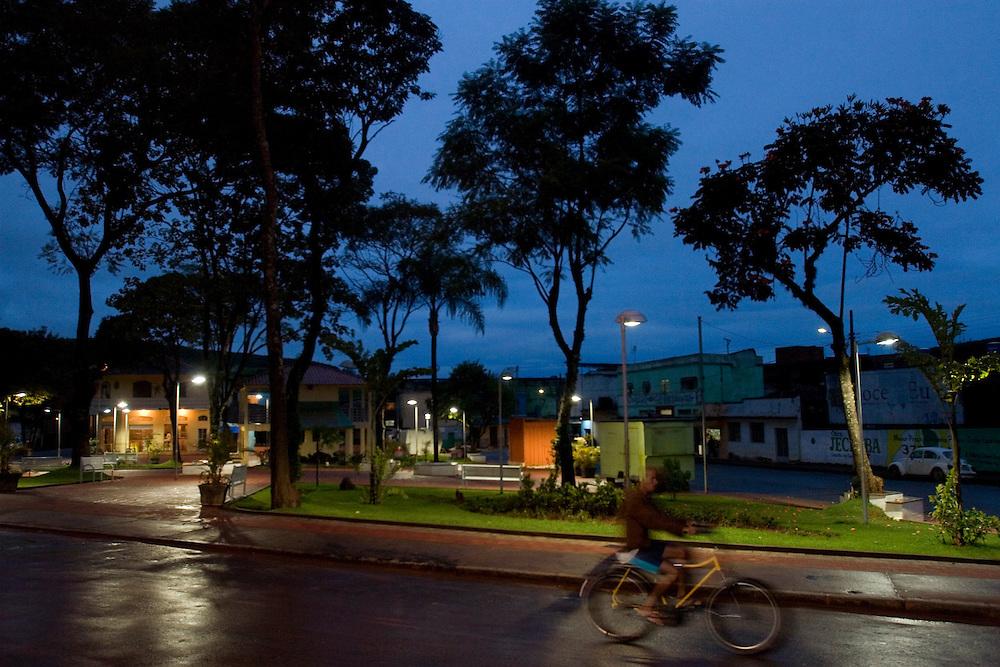 Jeceaba_MG, Brasil...Praca na cidade de Jeceaba...The square in Jeceaba town...Foto: VICTOR SCHWANER / NITRO