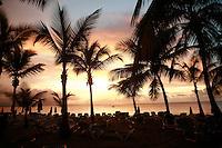 sunset at  Sosua Beach, Dominican Republic..Photo by Owen Franken.