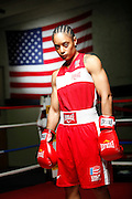 6/24/11 2:51:05 PM -- Colorado Springs, CO. -- A portrait of U.S. Olympic lightweight boxer Queen Underwood, 27, of Seattle, Wash. who will be competing for her fifth title. She began boxing in 2003 and was the 2009 Continental Champion and the 2010 USA Boxing National Champion. She is considered a likely favorite to medal at the 2012 Summer Olympics in London as women's boxing makes its debut as an Olympic sport. -- ...Photo by Marc Piscotty, Freelance.