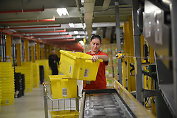 DUNFERMLINE: Amazon centre ahead of Black Friday. The online retailer's Black Friday sale runs from November 16 to 25<br /> <br /> &copy; George McLuskie /EEm