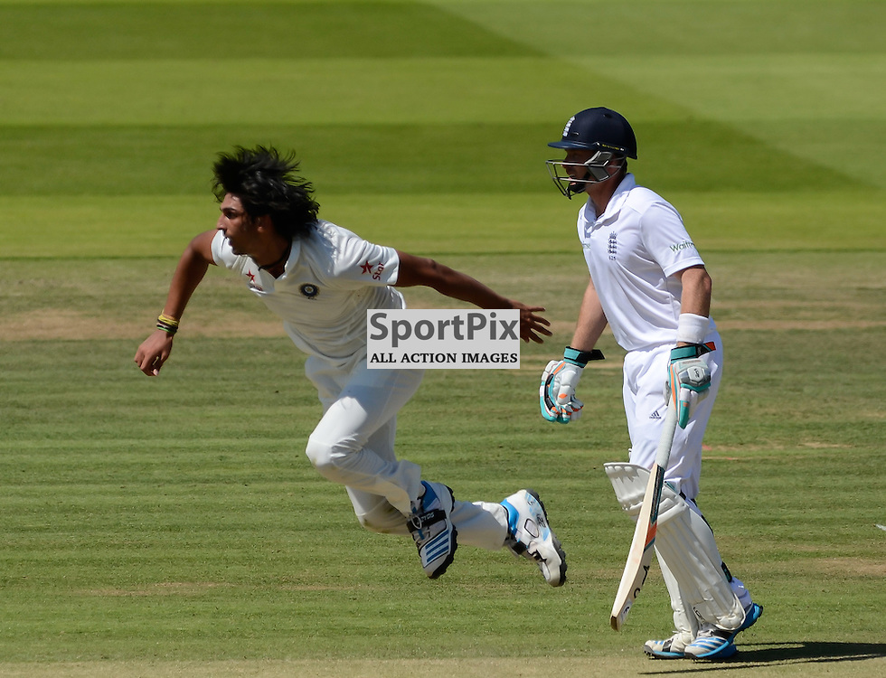 Ishant Sharma in full flow, Investec second test, Eng v Ind, 18 July 2014, (c) Simon Kimber | SportPix.org.uk