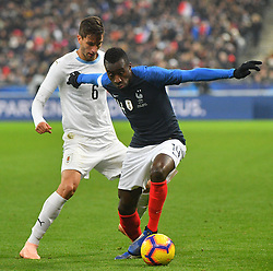 France's Blaise Matuidi during France v Uruguay friendly football match at the Stade de France in Saint-Denis, suburb of Paris, France on November 20, 2018. France won 1-0. Photo by Christian Liewig/ABACAPRESS.COM