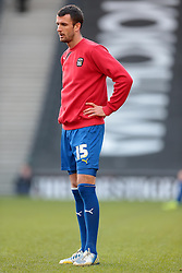 Coventry City's on loan signing Daniel Seaborne - Photo mandatory by-line: Nigel Pitts-Drake/JMP - Tel: Mobile: 07966 386802 30/11/2013 - SPORT - Football - Milton Keynes - Stadium mk - MK Dons v Coventry City - Sky Bet League One
