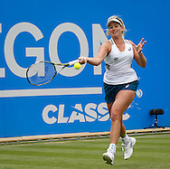 Coco Vandeweghe on Day Eight of the Aegon Classic at Edgbaston Priory Club, Birmingham, UK<br /> Picture by Mike Griffiths/Focus Images Ltd +44 7766 223933<br /> 18/06/2016