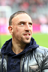 16.10.2010, Allianz Arena, Muenchen, GER, 1.FBL, FC Bayern Muenchen vs Hannover 96, im Bild Franck Ribery (Bayern #7) blickt nach oben, EXPA Pictures © 2010, PhotoCredit: EXPA/ nph/  Straubmeier+++++ ATTENTION - OUT OF GER +++++