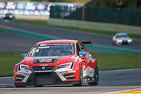 #54 Team Craft-Bamboo (HKG). LUKOIL SEAT Leon TCR. James Nash (GBR). TCR Race 1 as part of the WEC 6 Hours of Spa-Francorchamps 2016 at Circuit Spa-Francorchamps, Stavelot, Spa-Francorchamps, Belgium . May 06 2016. World Copyright Peter Taylor/PSP.