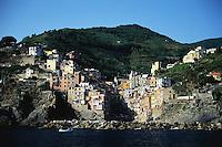 1997, Riomaggiore, Italy --- Village of Riomaggiore --- Image by © Owen Franken/CORBIS