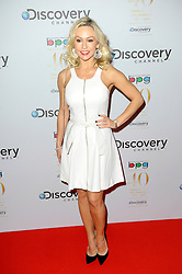 Kristina Rihanoff attends the Broadcasting Press Guild Awards sponsored by The Discovery Channel at Theatre Royal, London, United Kingdom. Friday, 28th March 2014. Picture by Chris Joseph / i-Images