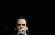 THE HAGUE solo world tour concert van Nick Cave in het World Forum Theater in Den Haag COPYRIGHT ROBIN UTRECHT