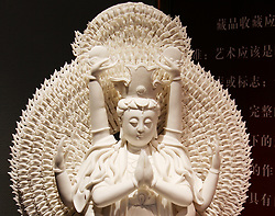 July 3, 2017 - Beijin, Beijin, China - Beijing, CHINA-July 3 2017: (EDITORIAL USE ONLY. CHINA OUT)...Exquisite porcelain can be seen at a porcelain art exhibition in Beijing. (Credit Image: © SIPA Asia via ZUMA Wire)