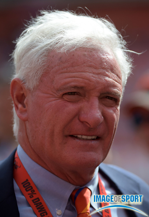 Sep 27, 2015; Cleveland, OH, USA; Cleveland Browns owner Jimmy Haslam attends a NFL game against the Oakland Raiders at FirstEnergy Stadium.