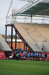 A general view of the South Stand development - Photo mandatory by-line: Dougie Allward/JMP - Mobile: 07966 386802 - 17/04/2015 - SPORT - Rugby - Bristol - Ashton Gate - Bristol Rugby v Jersey - Greene King IPA Championship