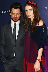 Dominic Cooper & Tali Lennox at the opening of the new Tommy Hilfiger store on in London on Thursday 1st December 2011. Photo by: i-Images