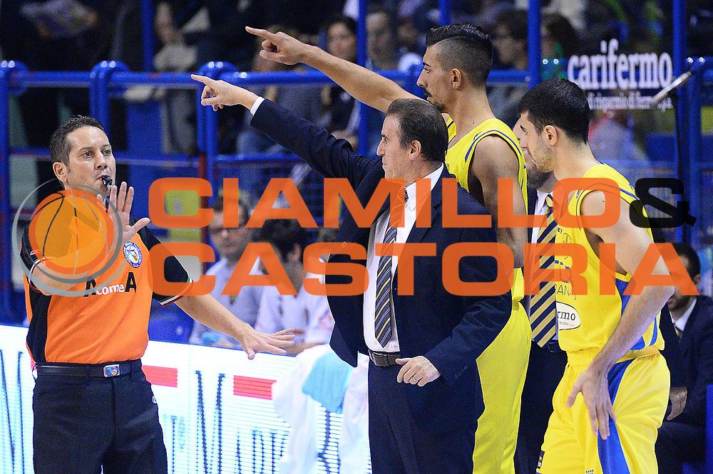 DESCRIZIONE : Porto San Giorgio Lega serie A 2013/14  Sutor Montegranaro Varese<br /> GIOCATORE : carlo recalcati<br /> CATEGORIA : schema composizione curiosità<br /> SQUADRA : Sutor Montegranaro<br /> EVENTO : Campionato Lega Serie A 2013-2014<br /> GARA : Sutor Montegranaro Pallacanestro Varese<br /> DATA : 23/11/2013<br /> SPORT : Pallacanestro<br /> AUTORE : Agenzia Ciamillo-Castoria/M.Greco<br /> Galleria : Lega Seria A 2013-2014<br /> Fotonotizia : Porto San Giorgio  Lega serie A 2013/14 Sutor Montegranaro Varese<br /> Predefinita :