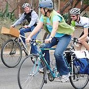 Cruiser ride in the 2011 UA Criterium bicycle race, Tucson, Arizona. Bike-tography by Martha Retallick.