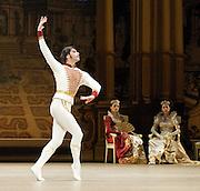 "Grand Pas from Paquita<br /> (part of Triple bill)<br /> The Bolshoi Ballet <br /> at The Royal Opera House, London, Great Britain <br /> <br /> Act 1<br /> rehearsal <br /> 29th July 2010 <br /> <br /> <br /> Variations<br /> <br /> Natalia Osipova<br /> Moderato. Riccardo Drigo for La Camargo by Minkus<br /> <br /> Anastasia Strashkevich<br /> Vladislav Lantratov<br /> <br /> Maria Alexandrova (as Paquita)<br /> Nikolai Tsiskaridze (as Lucien d""Hervilly)<br /> <br /> Photograph by Elliott Franks"