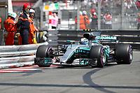 Monaco - Formula 1 - Gran Premio di Monaco di Formula 1 - Nella foto: Valtteri Bottas - Mercedes