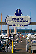 Friday Harbor, San Juan Island, Washington State