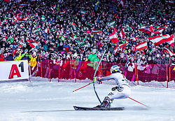 """29.01.2019, Planai, Schladming, AUT, FIS Weltcup Ski Alpin, Slalom, Herren, 2. Lauf, im Bild Felix Neureuther (GER) // Felix Neureuther of Germany in action during his 2nd run of men's Slalom """"the Nightrace"""" of FIS ski alpine world cup at the Planai in Schladming, Austria on 2019/01/29. EXPA Pictures © 2019, PhotoCredit: EXPA/ Stefanie Oberhauser"""
