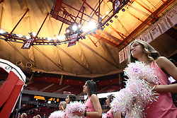 05 February 2016: Redline Express dancers. Illinois State University Women's Redbird Basketball team hosted the Sycamores of Indiana State for a Play4 Kay game at Redbird Arena in Normal Illinois.