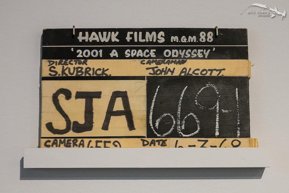 2001: A Space Odyssey clapper board