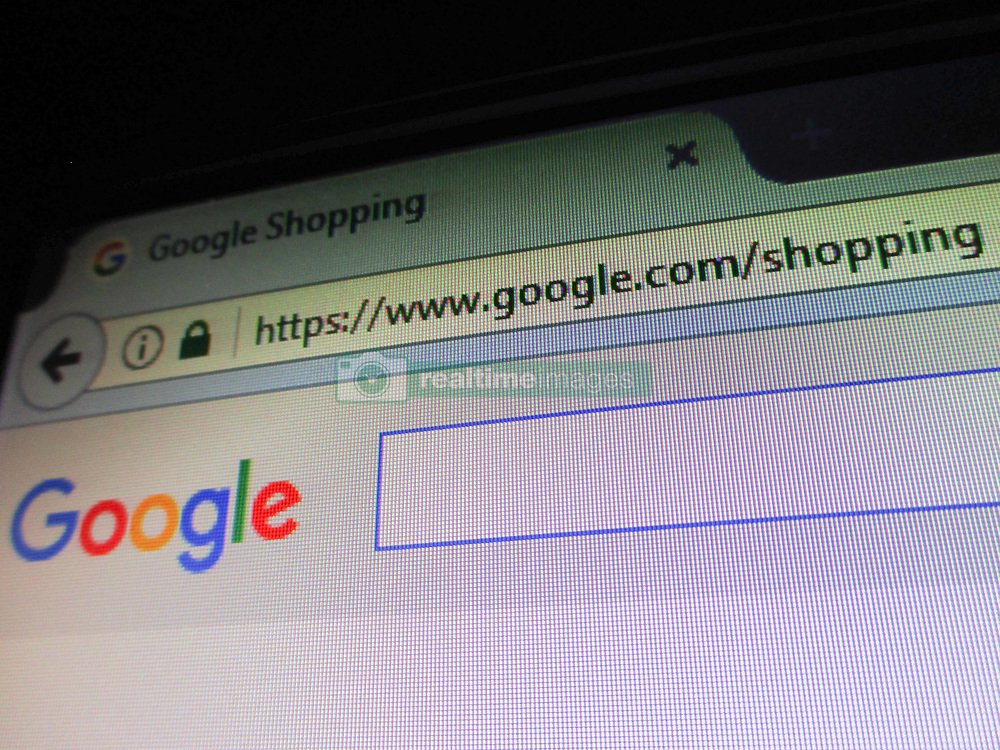 June 27, 2017 - Philippines - The website of Google Shopping service is seen in Manila, Philippines on Tuesday, June 27, 2017. According to news reports, the European Commission has issued a 2.42 billion euro fine on Google over the alleged promotion of its shopping service over other similar services in search results listings. (Credit Image: © Pacific Press via ZUMA Wire)