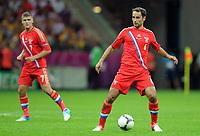 Fotball<br /> EM 2012<br /> 16.06.2012<br /> Hellas v Russland<br /> Foto: Witters/Digitalsport<br /> NORWAY ONLY<br /> <br /> Roman Shirokov (Roman Schirokow, Russland)<br /> Fussball EURO 2012, Vorrunde, Gruppe A, Griechenland - Russland 1:0