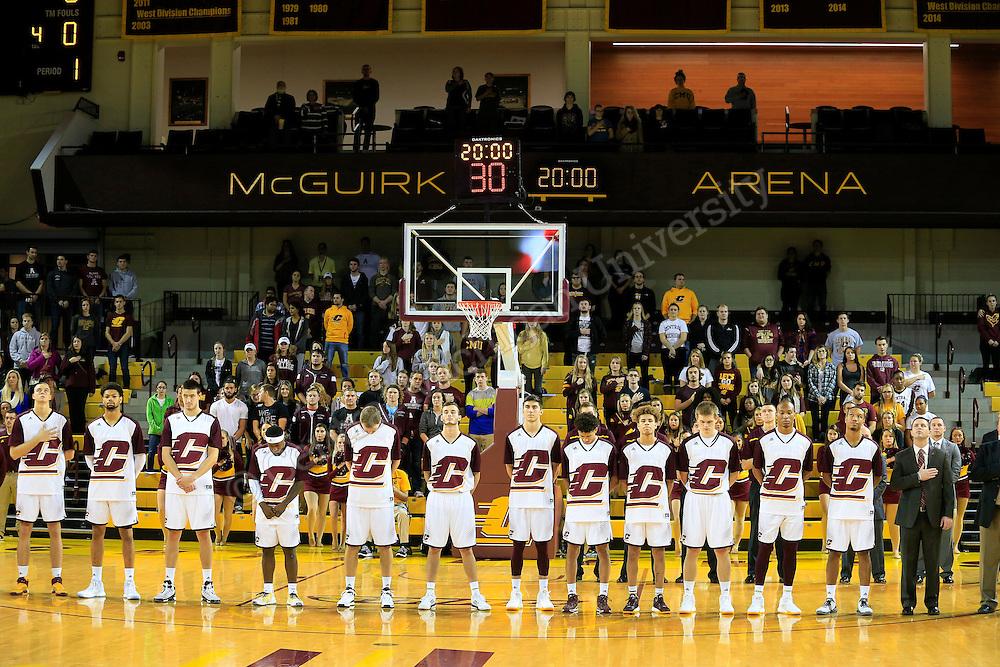 Mens Basketball vs. Alma on November 17, 2015. sj  Photo by Steve Jessmore/Central Michigan University