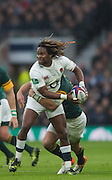 Twickenham, United Kingdom.  Marland YARDE,   Old Mutual Wealth Series: England vs South Africa, at the RFU Stadium, Twickenham, England, Saturday, 12.11.2016<br /> <br /> [Mandatory Credit; Peter Spurrier/Intersport-images]