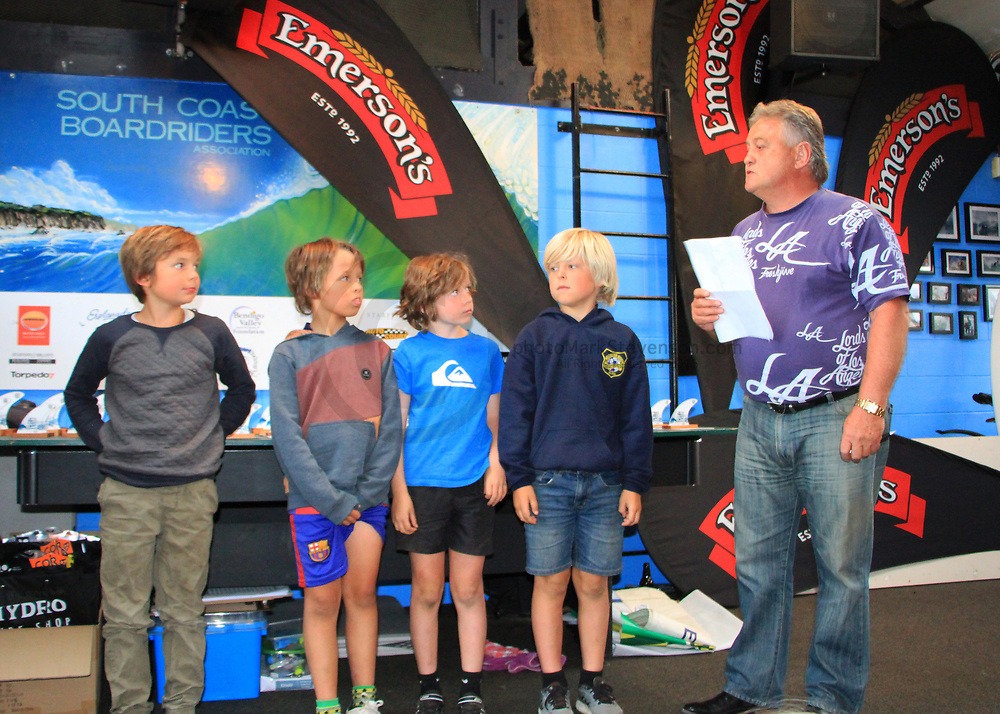 Prize giving at SCBRA club rooms of the <br />