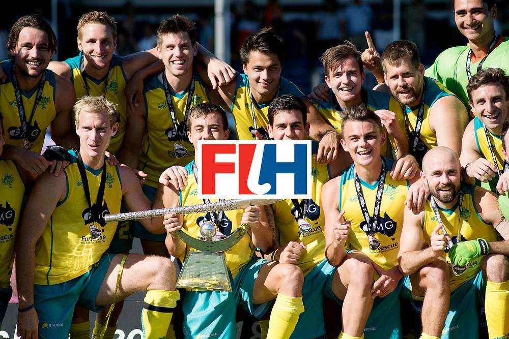 BREDA - Rabobank Hockey Champions Trophy<br /> Final Australia - India<br /> Australia won after shoot outs.<br /> Photo: <br /> COPYRIGHT WORLDSPORTPICS FRANK UIJLENBROEK