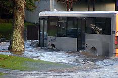 Auckland-Rain storm cause flooding in Manurewa