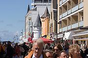 Friedrichstraße pedestrian zone and shopping street.