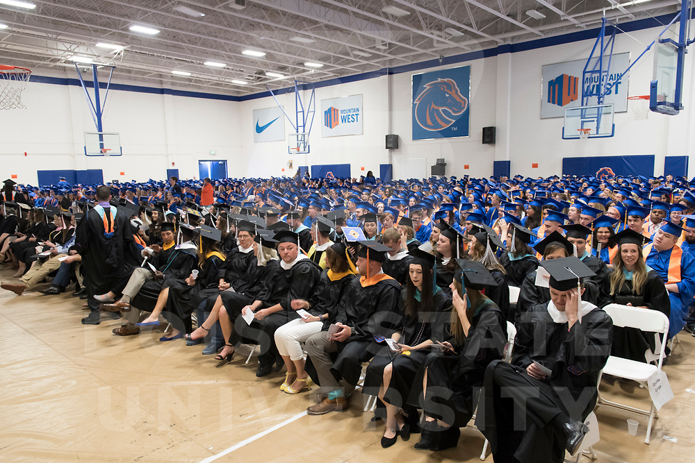 Spring Commencement 2018, afternoon ceremony, photo Patrick Sweeney