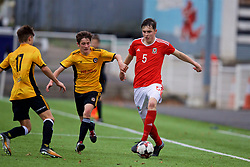 MERTHYR TYDFIL, WALES - Thursday, November 2, 2017: Wales' Alaric Jones during an Under-18 Academy Representative Friendly match between Wales and Newport County at Penydarren Park. (Pic by David Rawcliffe/Propaganda)