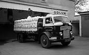 16/04/1964<br /> 04/16/1964<br /> 16 April 1964<br /> Odlum's Commer flatbed lorry  being loaded at Odlum's Portlaoise, Co. Laois.