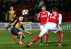 Jamie Paterson of Bristol City fires a shot at goal  - Mandatory by-line: Matt McNulty/JMP - 17/01/2017 - FOOTBALL - Highbury Stadium - Fleetwood,  - Fleetwood Town v Bristol City - Emirates FA Cup Third Round Replay