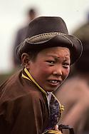 Mongolia. Young horseman (Ulan Bator).   /  jeune cavalier à Oulan Bator