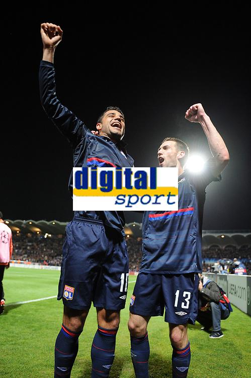 FOOTBALL - UEFA CHAMPIONS LEAGUE 2009/2010 - 1/4 FINAL - 2ND LEG - GIRONDINS DE BORDEAUX v OLYMPIQUE LYONNAIS - 7/04/2010 - JOY LYON - REVEILLERE<br /> PHOTO FRANCK FAUGERE / DPPI