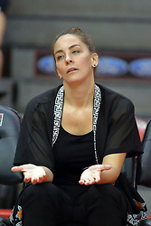 28 September 2014:  Melissa Myers during an NCAA womens volleyball match between the Evansville Purple Aces and the Illinois State Redbirds at Redbird Arena in Normal IL