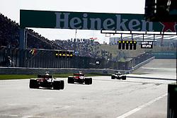 April 15, 2018 - Shanghai, China - Shanghai: Motorsports: Formula 1 2018 Heineken Chinese Grand Prix.Chinese Formula One Grand Prix Shanghai Circuit in Shanghai, China. Safety car on track  (Credit Image: © Hoch Zwei via ZUMA Wire)