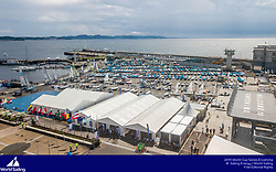 From 9 to 16 September 2018, the Tokyo 2020 Olympic Sailing Competition venue in Enoshima, Japan, will host sailors for the first event of the 2019 World Cup Series. More than 450 sailors from 45 nations will race in the 10 Olympic events.  ©JESUS RENEDO/SAILING ENERGY/ WORLD SAILING<br /> 10 September, 2018.