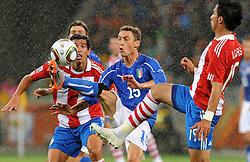14.06.2010, Cape Town Stadium, Kapstadt, RSA, FIFA WM 2010, Italien vs Paraguay im Bild Claudio Marchisio (Italia)., EXPA Pictures © 2010, PhotoCredit: EXPA/ InsideFoto/ G. Perottino, ATTENTION! FOR AUSTRIA AND SLOVENIA ONLY!!! / SPORTIDA PHOTO AGENCY