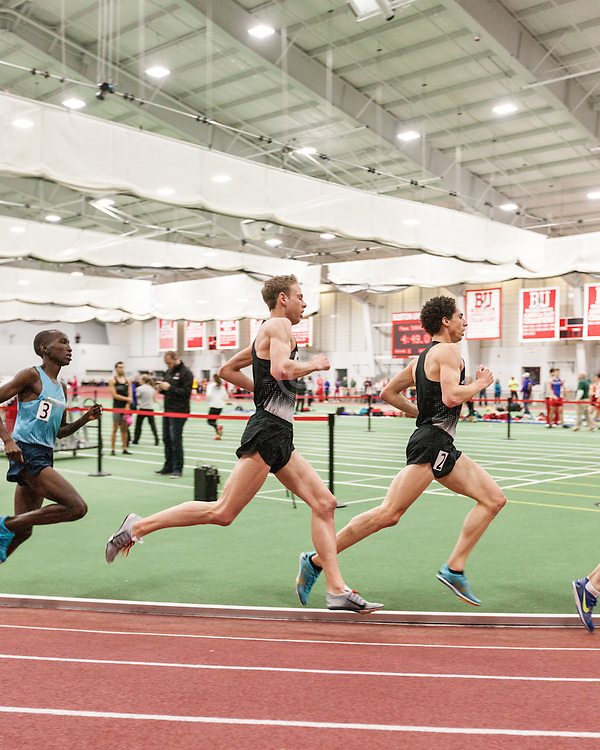 Boston University Multi-team indoor track & field meet, Levins, Rupp 5000m