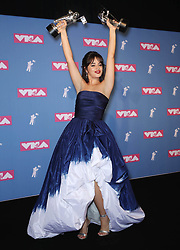 August 21, 2018 - New York City, New York, USA - 8/20/18.Camila Cabello at the 2018 MTV Video Music Awards at Radio City Music Hall in New York City. (Credit Image: © Starmax/Newscom via ZUMA Press)
