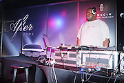 """Biz Markie spinning at """" Lincoln After Dark """" sponsored by Lincoln Motors and hosted by Idris Elba and Steve Harvey and music by Biz Markie during the 2009 Essence Music Festival and held at The Contemporary Arts Center in New Orleans on July 4, 2009"""