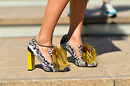 Fendi Fur Shoes, Outside BCBG Max Azria SS2015